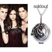 Collier + Pendentif Vampire Diaries Original Elena Protection Haute Qualit�