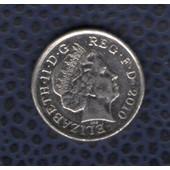 Royaume Uni 2010 Pi�ce De Monnaie Coin 5 Five Pence Queen Elizabeth Ii