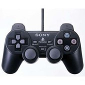 Coque Noire Manette Ps2 Sony