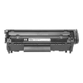 Hp 12a - Noir - Original - Laserjet - Cartouche De Toner ( Q2612a ) - Pour Laserjet 10xx, 30xx, M1005, M1319
