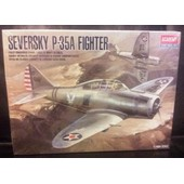 Seversky P-35 Fighter-(Limited �dition Maquette Avion)(1/48)(Academy)(Usa).