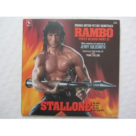 rambo first blood part 2 bande originale du film avec sylvester stallone et richard crenna