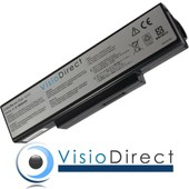 Batterie 11.1V 6600mAh pour ordinateur portable ASUS X72J - Visiodirect -