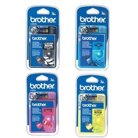 4 Cartouches Brother Lc900 Black, Yellow, Magenta Et Cyan