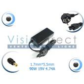 Adaptateur alimentation chargeur pour ordinateur portable ACER Aspire 7520 7530 7535 7535g 7540 - Visiodirect -
