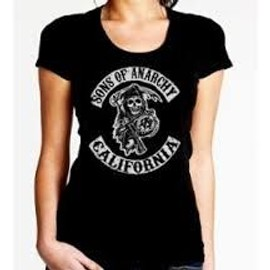 T-Shirt Uraeus Femme Sons Of Anarchy California