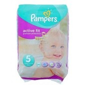 Pampers Active Fit 20 Couches Taille 5 (11-25 Kg)