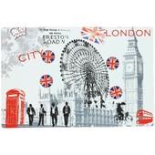 Tableau Memo Cuisine + 4 Petits Magnets Londres Big Ben