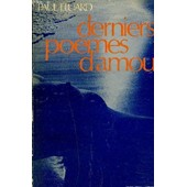 Derniers Poemes D'amour. de paul eluard