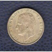 Espagne 1983 Pi�ce De Monnaie Coin 100 Cien Pesetas Juan Carlos I