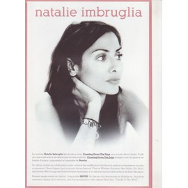 NATALIE IMBRUGLIA Bon Précommande / Poster n°50054 COUNTING DOWN THE DAYS