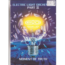 "ELECTRIC LIGHT ORCHESTRA PART II tour programme ""moment of truth"" 1994"
