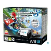 Console Nintendo Wii U 32 Go Noire + Mario Kart 8 Pr�install� - Premium Pack
