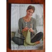 Catalogue Berg�re De France 08/09 - Explications Tricots