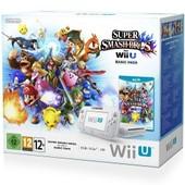 Console Nintendo Wii U 8 Go Blanche + Super Smash Bros