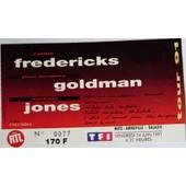 Fr�dericks Goldman Jones Tour 91 Metz-Amn�ville Galaxie