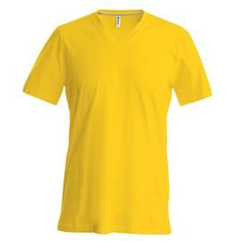 T-Shirt Col V Manches Courtes Homme - Kariban