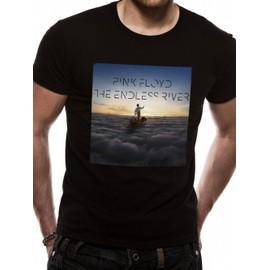 T-Shirt Pink Floyd Noir Endless River Cover - XXL