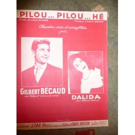 PILOU...PILOU...HE  Gilbert Bécaud