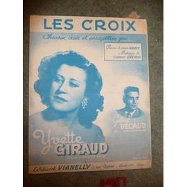 LES CROIX  Gilbert Bécaud
