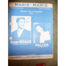 MARIE - MARIE gilbert Bécaud
