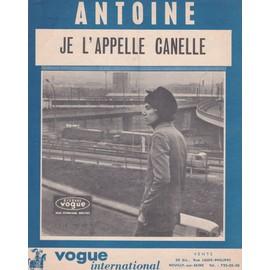 Je l'appelle Canelle (Antoine)