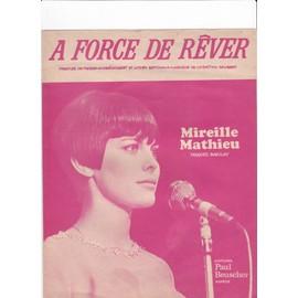 A force de rêver (Mireille Mathieu)