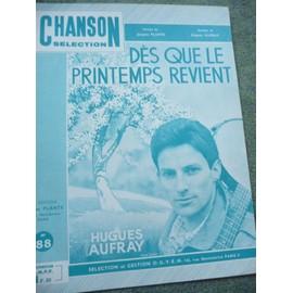 DES QUE LE PRINTEMPS REVIENT Hugues Aufray