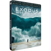 Exodus : Gods And Kings - Combo Blu-Ray3d + Blu-Ray+ Dvd + Digital Hd - �dition Collector Limit�e Bo�tier Steelbook de Ridley Scott