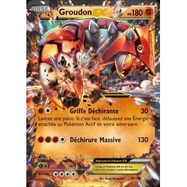 Primo Choc Ultra Rare Groudon Ex 85/160