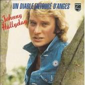 Johnny Hallyday Cd Single Un Diable Entour� D'anges / La Fille De L'hiver