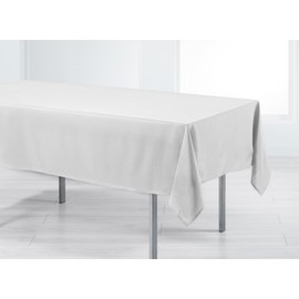 Nappe Rectangle 140x250 Holly Blanc