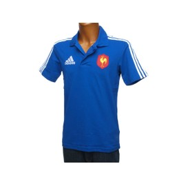Maillot De Rugby Adidas Ffr Polo H France Rugby