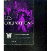 Les Ordinations de pierre jounel