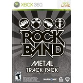 Rock Band : M�tal Track Pack - Xbox 360 Import Usa Ntsc
