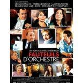 Fauteuils D'orchestre - Dani�le Thompson - C�cile De France - Claude Brasseur - Affiche De Cin�ma Pli�e 60x80 Cm