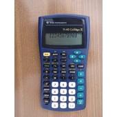 Texas Instruments Ti-40 Coll�ge Ii