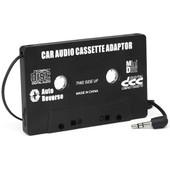 Trixes Adaptateur Cassette Autoradio Pour Mp3, Ipod Nano, Md, Iphone - Noir