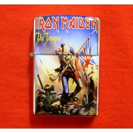 iron maiden the trooper briquet
