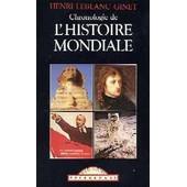 Chronologie De L'histoire Mondiale
