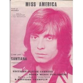 SANTIANA/MISS AMERICA