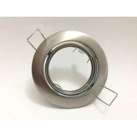 Support Spot Rond Orientable 82mm Inox