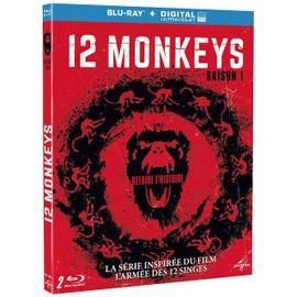 12 Monkeys Saison 1 Blu Ray