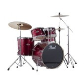 Batterie Pearl Export Rock 22'' Red Wine Avec Cymbales