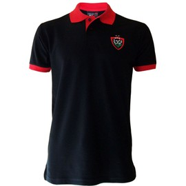 Polo Rct Toulon - Collection Officielle Rugby Club Toulonnais - Blason Maillot Top 14 - Taille Adulte Homme