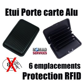 Etui Protection Cb Carte Bancaire Rfid Nfc 6 Emplacements Anti Fraude