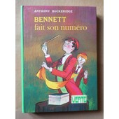 Bennett Fait Son Num�ro de anthony buckeridge