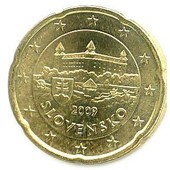 20 Cents Slovaquie 2009