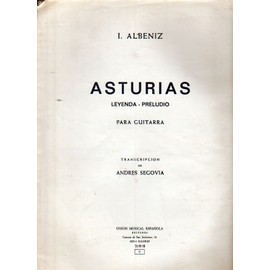 Asturias (Leyenda - Preludio) para guitarra