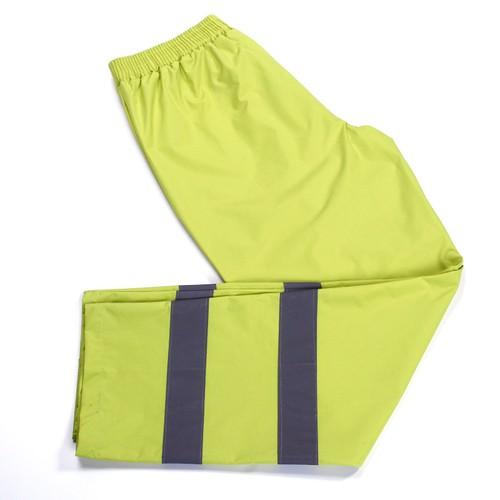 Hi Vis jaune de sécurité Pantalon polyester//coton semi-élastique taille 3XL Haute Vis Viz